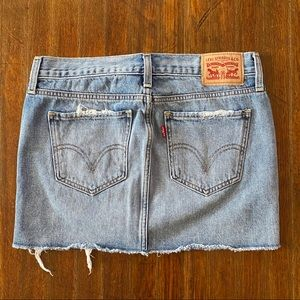 Levi's Mini Denim Skirt